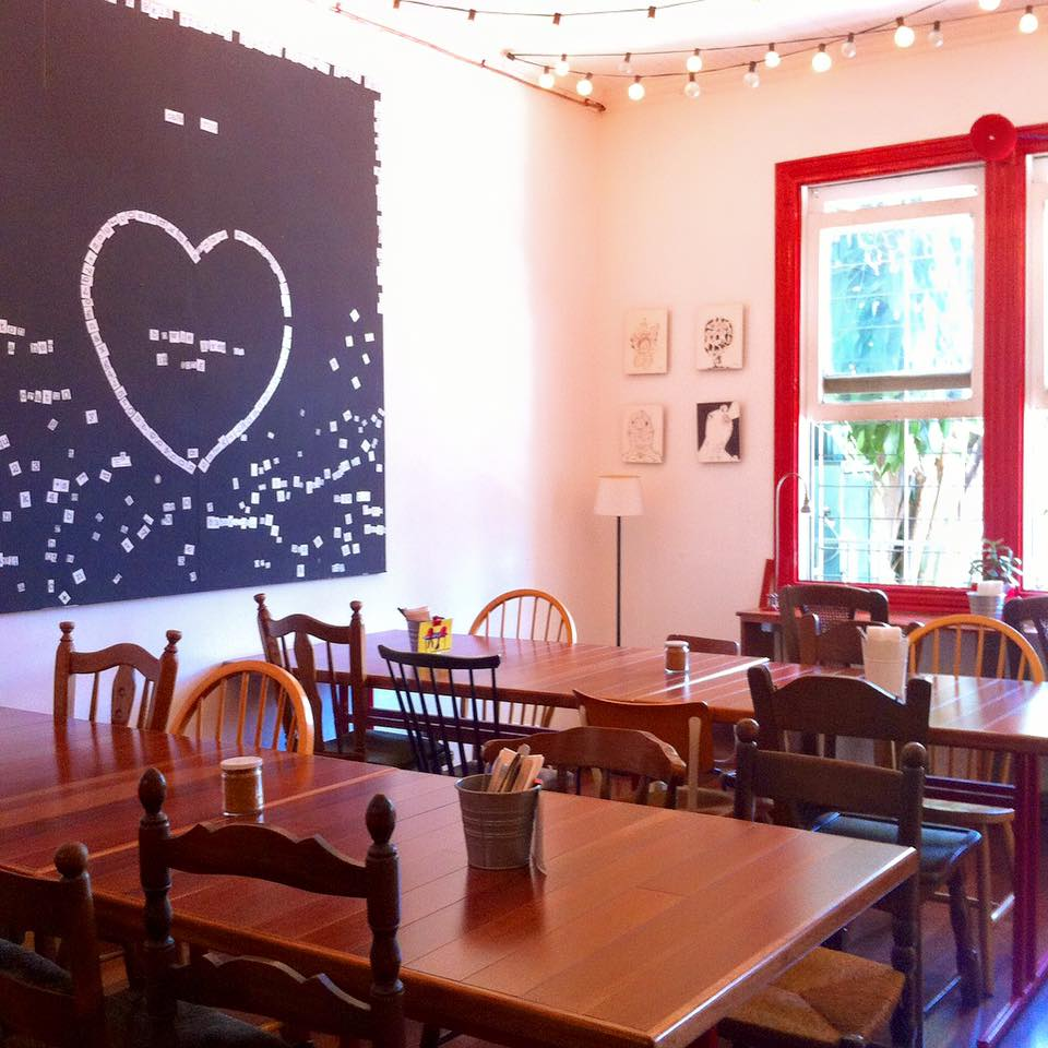 Hermosa Acogedora Cafetería Del Dibujo De Tricotado Elaboración ...