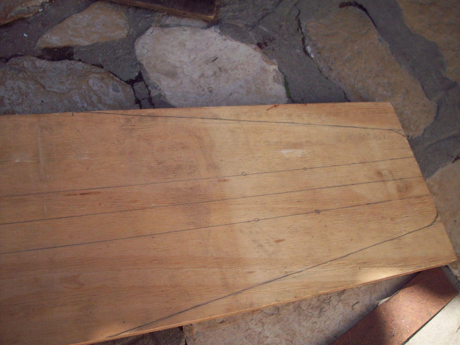 patineta de madera