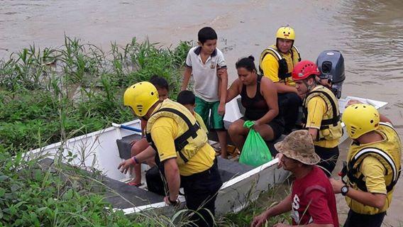 Foto: tomada del Facebook del Benemérito Cuerpo de Bomberos de Costa Rica.