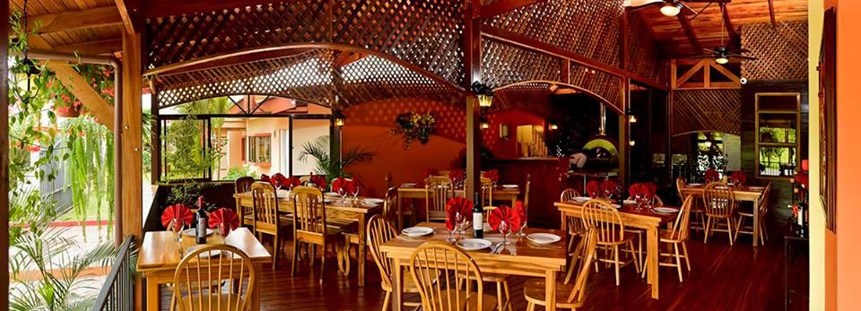 Arenal Lodge Restaurant Menu