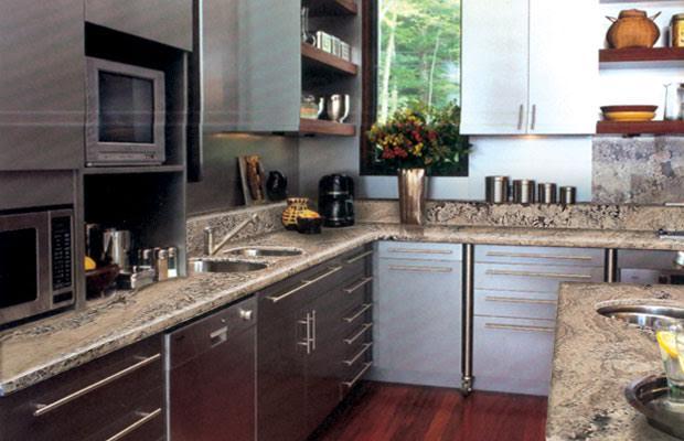 Remodele sus ba os y cocinas con muebles de m rmol y for Granito o silestone para cocinas